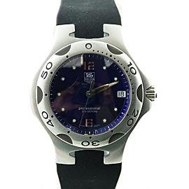 Tag Heuer Professional Kirium WL111H Quartz Dark Blue Dial Stainless Steel 37mm Mens Watch