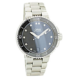 Oris Aquis Date 733-7652-4194MB 36mm Womens Watch