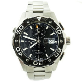 Tag Heuer Calibre 16 Aquaracer CAJ2110 Stainless Steel Automatic 44mm Mens Watch