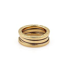 Bulgari B Zero-1 18k Yellow Gold 7mm Band Ring Size 5.75