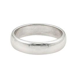 Tiffany & Co. Platinum Wedding Band Ring Size 11.75