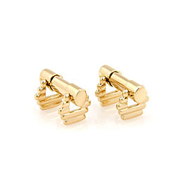 Tiffany & Co. 18K Yellow Gold Cufflinks