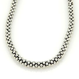 Steven Lagos Caviar 925 Sterling Silver Beaded Necklace