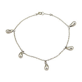 Tiffany & Co. Elsa Peretti 950 Platinum Multi Tear Drop Bracelet