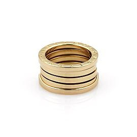 Bulgari B Zero-1 18K Yellow Gold Band Ring Size 5.25