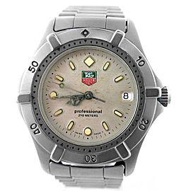 Tag Heuer 2000 Series WE1211-R 33mm Unisex Watch