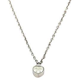 Chopard 18K White Gold Diamond Pendant