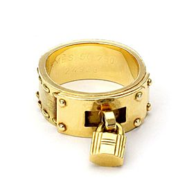 18K Yellow Gold Ring Size 5