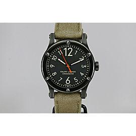 Ralph Lauren RL Sporting Classic 45 PVD Automatic Watch R0220900