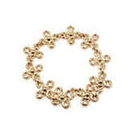 CHANEL 18K YELLOW GOLD DIAMOND BRACELET