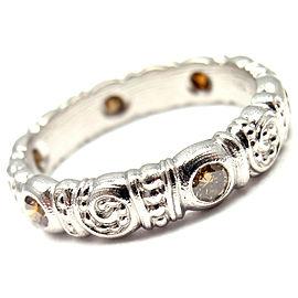 Alex Sepkus Nautilus Platinum Natural Color Diamond Band Ring