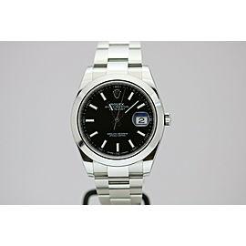 Rolex Datejust 41 Black Dial Automatic 41mm Watch 126300