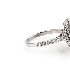 Diamond Solitaire Engagement Ring 2.07 Heart Shape Cut set In 18k White Gold