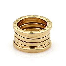 Bvlgari Bulgari B Zero-1 18k Yellow Gold 13mm Band Ring Size EU 55-US 7
