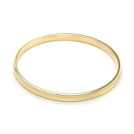 Tiffany & Co. 1837 Collection 18k Yellow Gold Concave Bangle