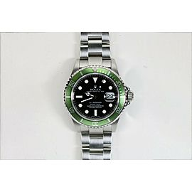 Rolex Green Anniversary Submariner Dive Watch M Series 16610LV 16610