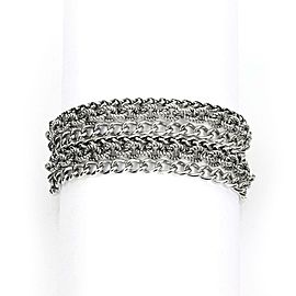 David Yurman Sterling Silver 6 Strand Chain Toggle Bracelet