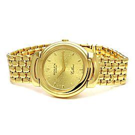 Rolex Cellini 18k Yellow Gold Men's Wrist Watch Quartz 6622