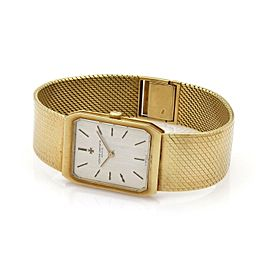 Vacheron Constantin 18k Yellow Gold Hand Wind Men's Wrist Watch