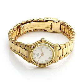 Ebel Classic 18k Yellow Gold 20mm Ladies Quartz Wrist Watch 866902X