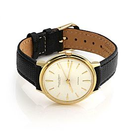 IWC Schaffhausen Automatic 18k Gold Cal 853 Mens Wrist Watch 1647540