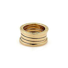 Bvlgari Bulgari B Zero-1 Wide 18k Yellow Gold 10mm Band Ring Size 51-US 5.5