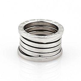 Bvlgari Bulgari B Zero-1 18k White Gold 13mm Band Ring Size EU 50-US 4.75