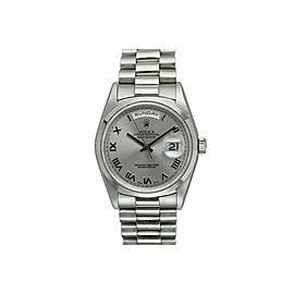 Rolex Day Date President Platinum Automatic 36mm Watch 18206 U Series