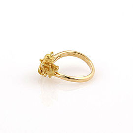 Carrera y Carrera 18K Yellow Gold Baby Angel Designer Ring