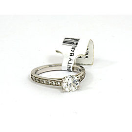 Scott Kay Platinum Mounting w/48 pts Diamonds Accent Engagement Solitaire Ring