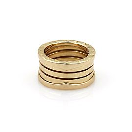 Bvlgari Bulgari B Zero-1 18k Yellow Gold 11mm Band Ring Size EU 51-US 5.25