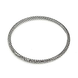 64686 David Yurman Sterling Silver 4mm Cable Bangle