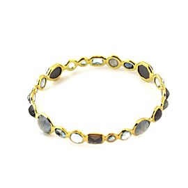 Ippolita 'Corsica' Rock Candy Gelato Gems 18k Yellow Gold Bangle