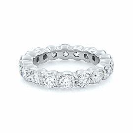 Rachel Koen Platinum Round Diamonds Ladies Eternity Band Ring 4.50cts Siz 7.5