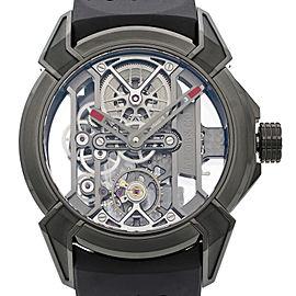 Jacob & Co. Epic X Skeleton Titanium Mens Hand-Wind Watch EX100.21.PS.BW.A