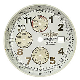 Breitling A1337011 / A562 Super Avenger 36 mm White Dial for 48 mm Men's Watch