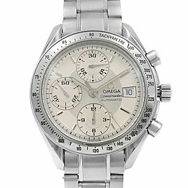 Omega Speedmaster Date Steel Silver Dial Automatic Mens Watch 3513.30.00