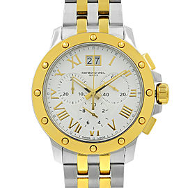 Raymond Weil Tango Two Tone Steel Quartz Mens Watch 4899-STP-00308