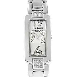 Raymond Weil Shine Steel Diamond Quartz Ladies Watch 1500-ST2-05383