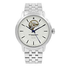 Raymond Weil Maestro Transparent Steel Automatic Mens Watch 2227-ST-65001