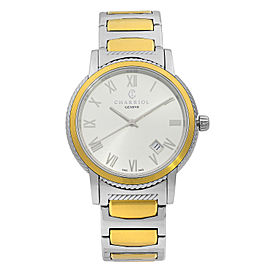 Charriol Parisii Two Tone Steel Silver Dial Quartz Unisex Watch P40SY2.931.001