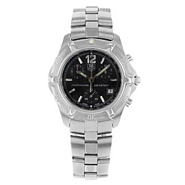 TAG Heuer Professional 2000 Exclusive Steel Black Dial Mens Watch CN1110.BA0337
