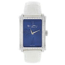 Cuervo Y Sobrinos Prominente Original Diamonds Blue Unisex Watch A1010.1BC-SP