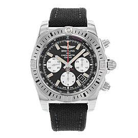 Breitling Chronomat 44 Airborne Black Dial Steel Mens Watch AB01154G/BD13-1FD