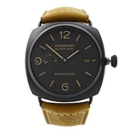 Panerai Radiomir Black Seal Composite Leather Automatic Mens Watch PAM00505