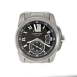 Calibre de Cartier Automatic SSteel 42mm Date Men's Wrist Watch - 3389