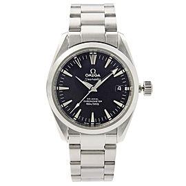 Omega Seamaster Aqua Terra Steel Black Dial Automatic Midsize Watch 2504.50.00