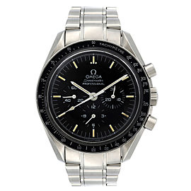 Omega Speedmaster Moonwatch Steel Black Dial Manual Wind Watch 3590.50.00