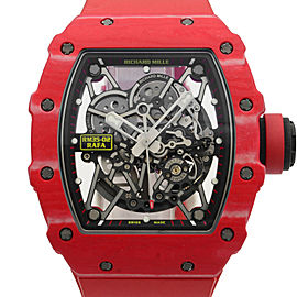 Richard Mille Rafael Nadal Red NTPT Carbon Automatic Mens Watch RM35-02