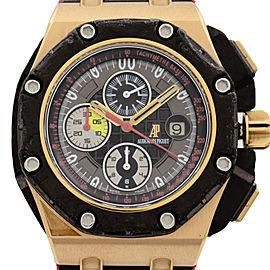 Audemars Piguet Grand Prix Rose Gold Forged Carbon Watch 26290RO.OO.A001VE.01